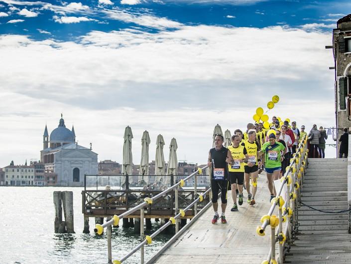 Sammy Basso alla Venicemarathon 2016